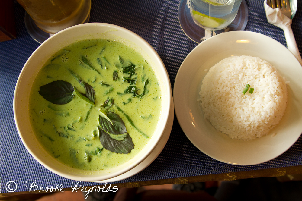 Coconut Curry in Cambodia