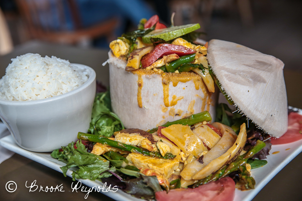 coconut curry, my thai vegan cafe