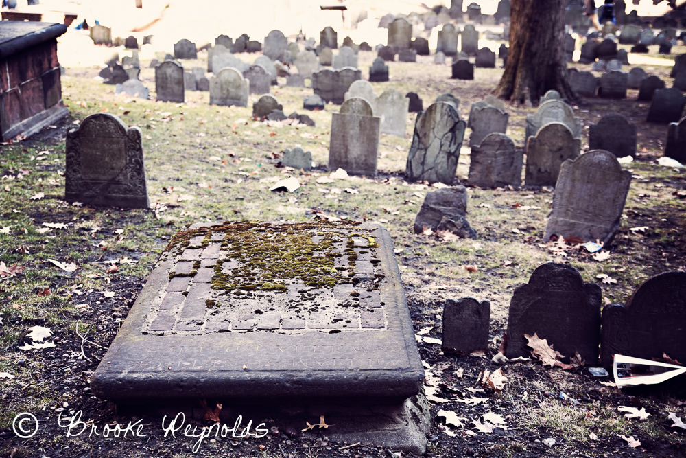 paul revere burial ground, freedom trail
