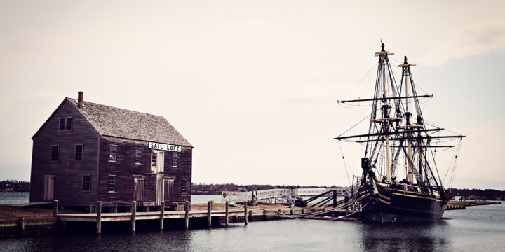 salem, massachusetts ship harbor